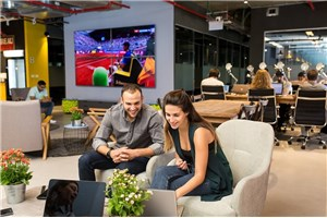 Coworking space in Tel Aviv - Olympia Zone-Merkspace